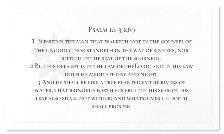 Psalm 1 BC Back